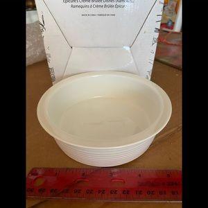 5 Crème brûlée dishes in box